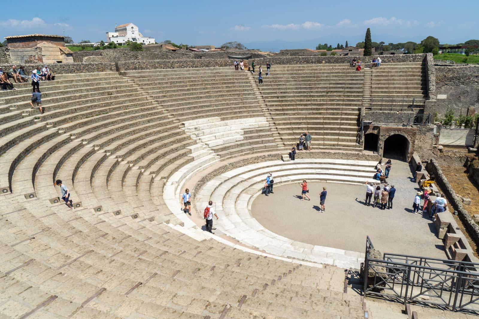 Grand Theatre, Pompeii, Italy