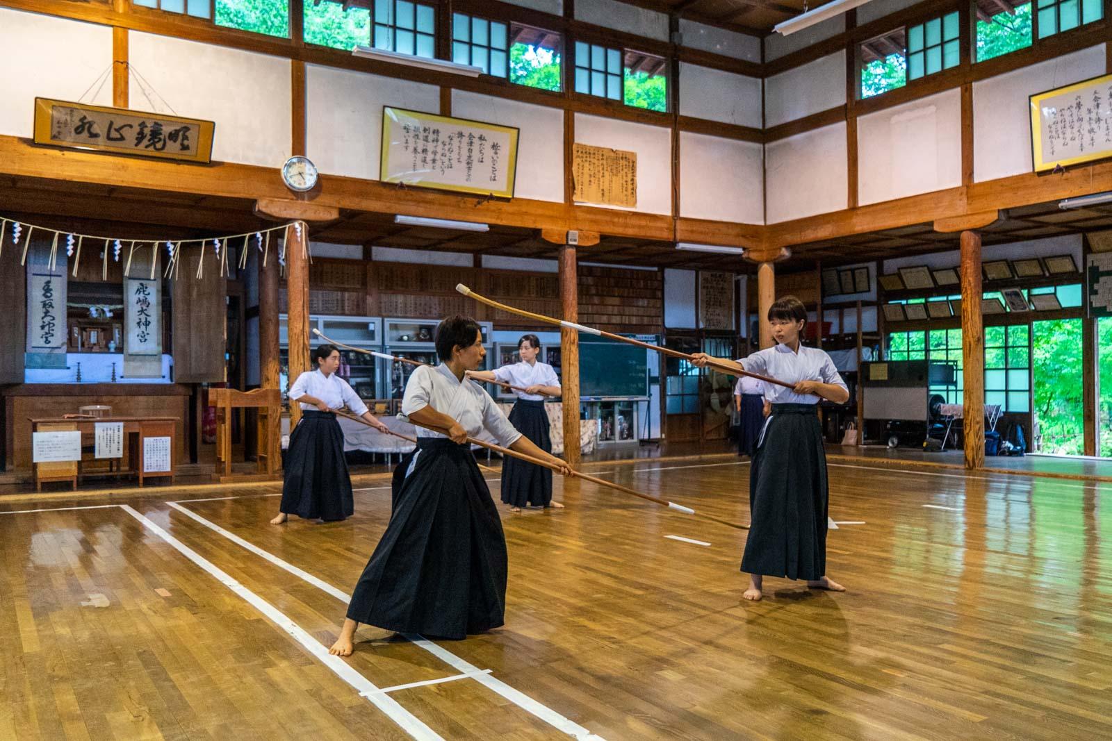 Butokuden, Aizu, Japan