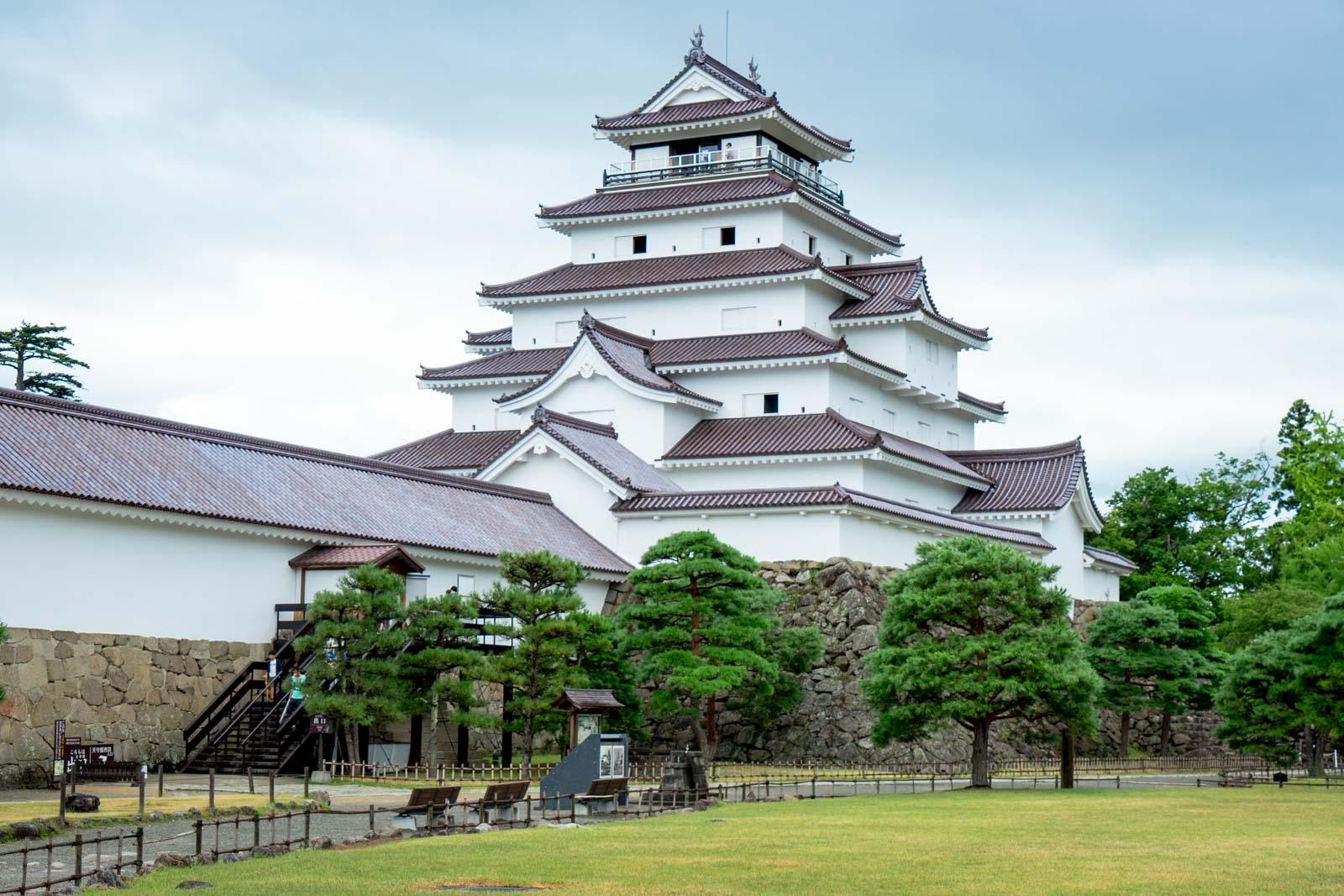 Tsuruga Castle, Aizu, Japan
