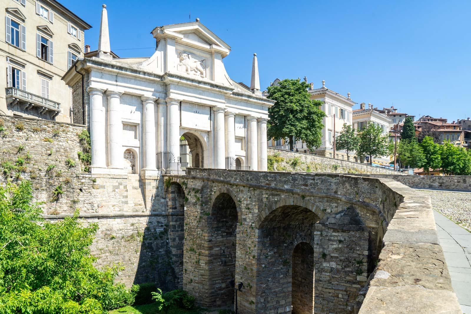 Porta San Giacomo, Bergamo, Italy