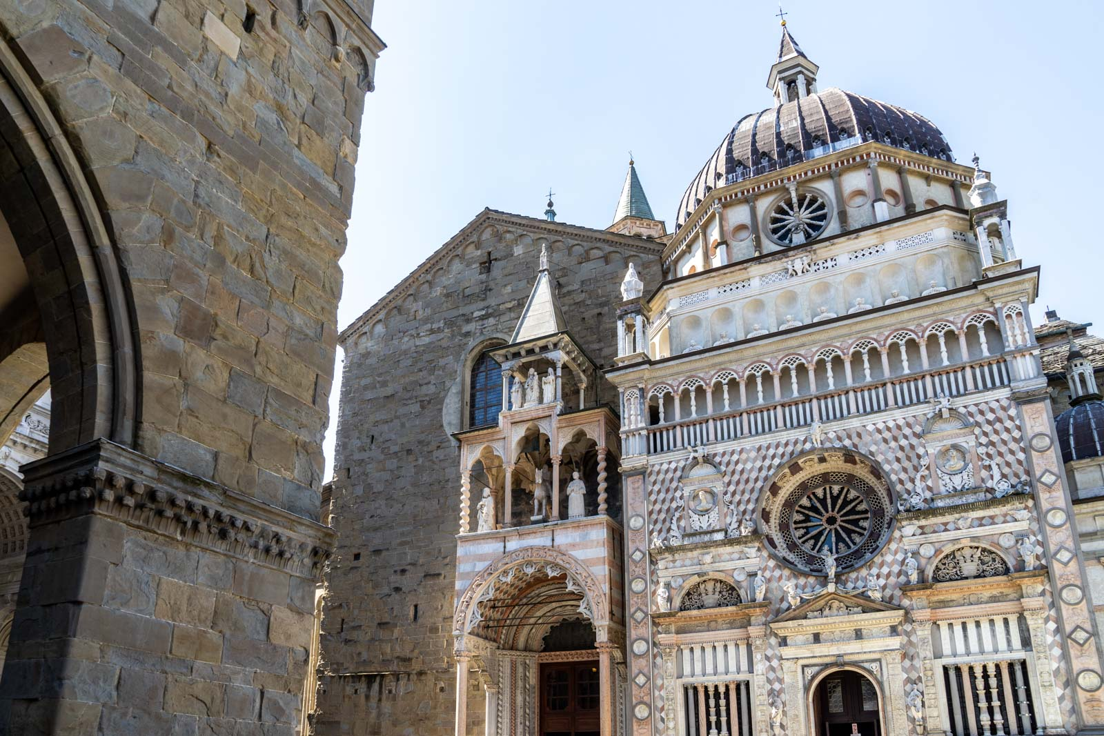 Colleoni Chapel, Bergamo, Italy