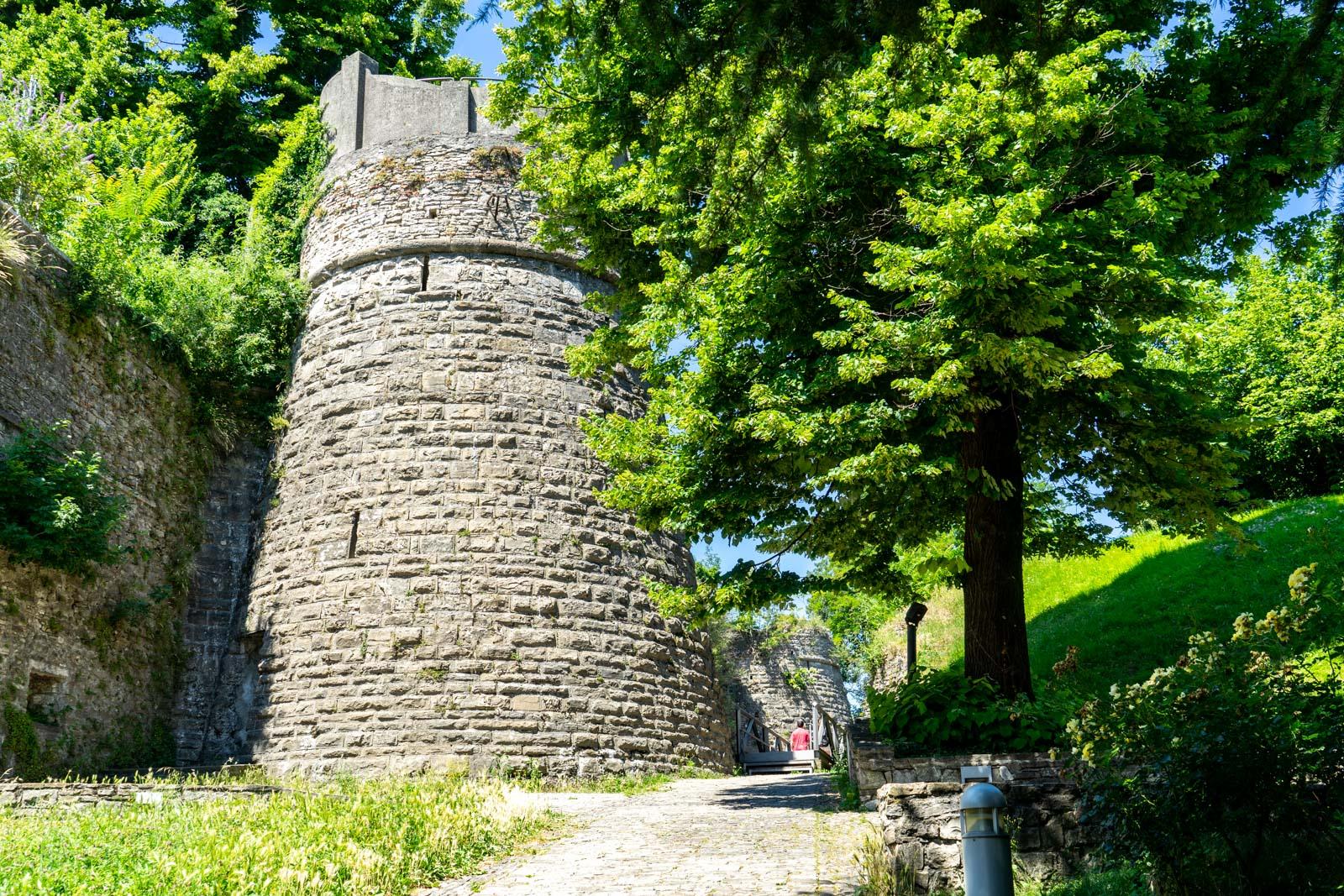 San Vigilio Castle, Bergamo, Italy