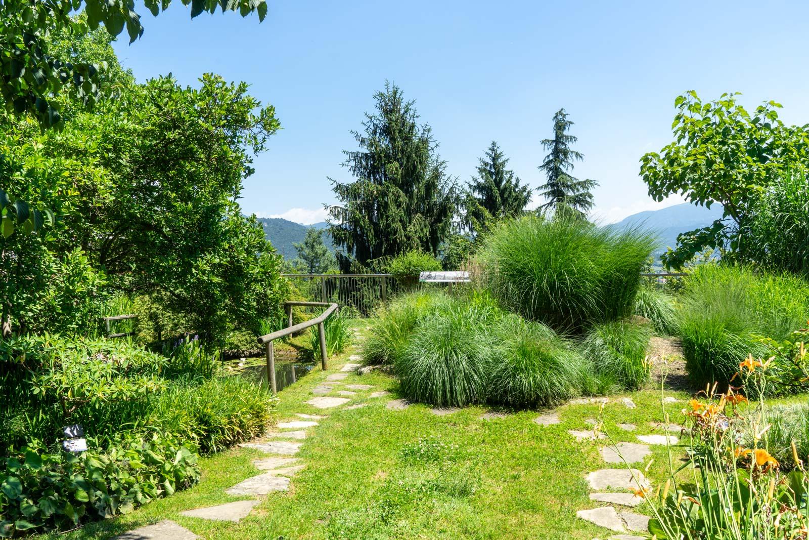 Bergamo Botanical Garden, Italy