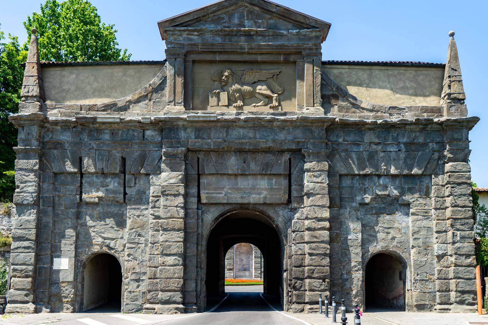 Porta Sant'Agostino, Bergamo, Italy
