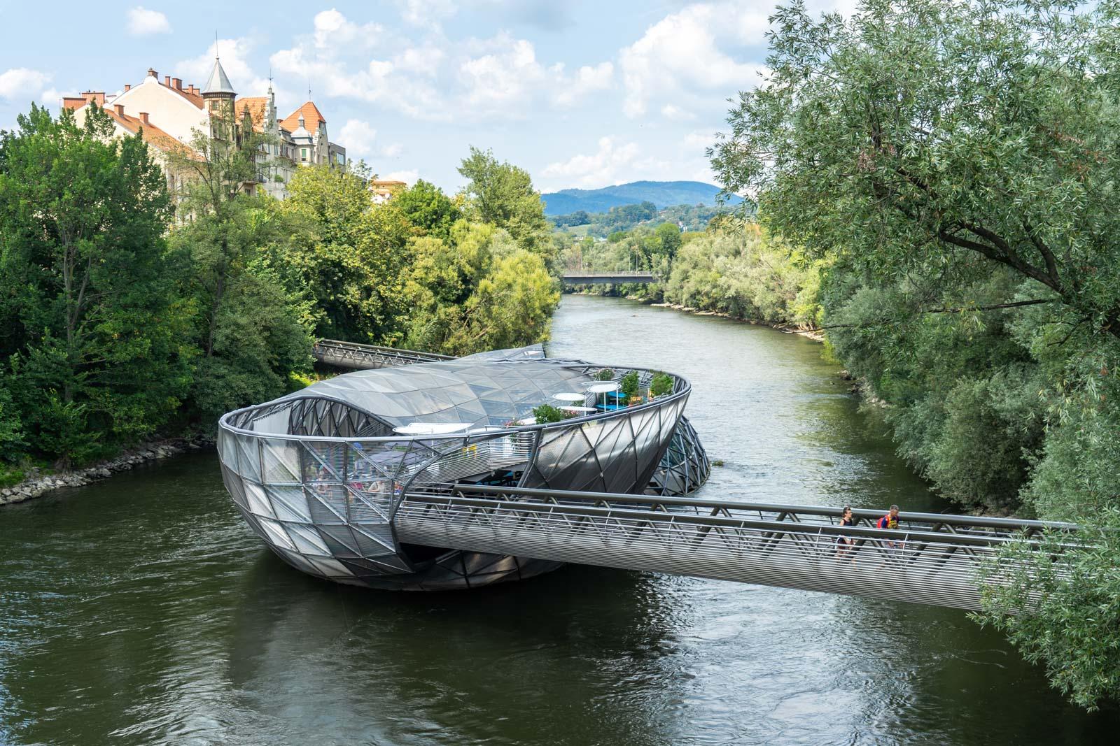 Murinsel, Graz, Austria