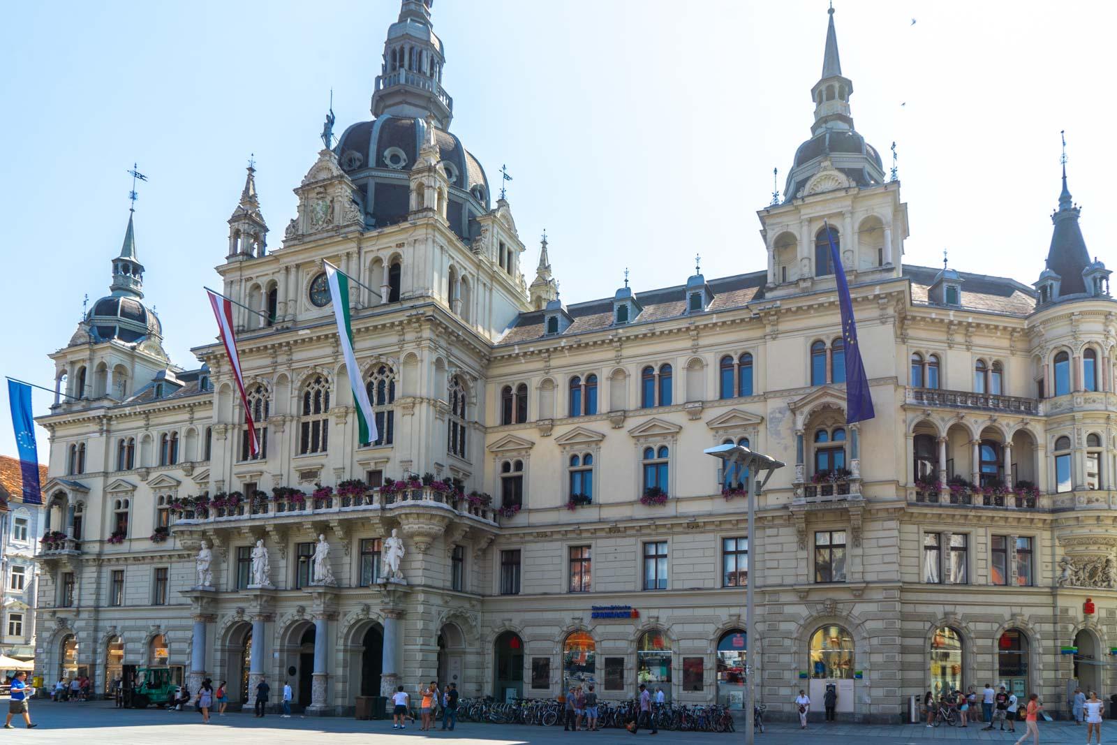 Town Hall, Graz, Austria