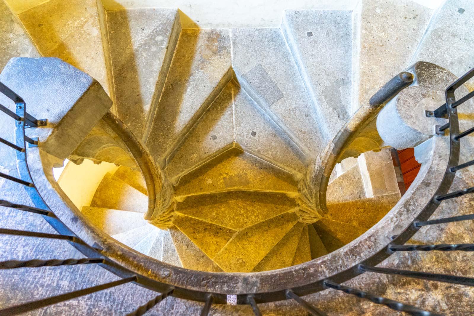 Double spiral staircase, Graz, Austria