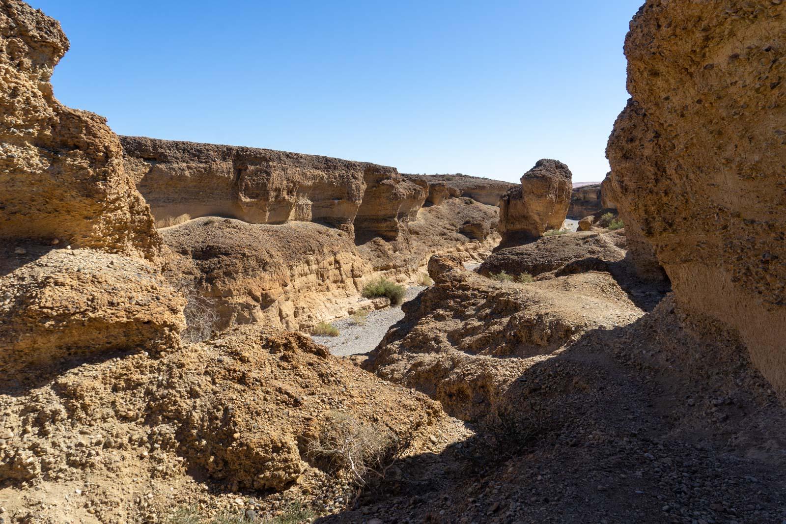 Sesriem Canyon, Sossusvlei, Namibia