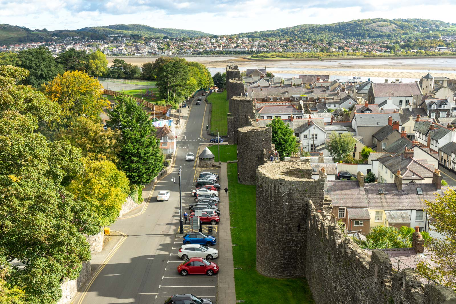 Conwy Town Walls, Wales