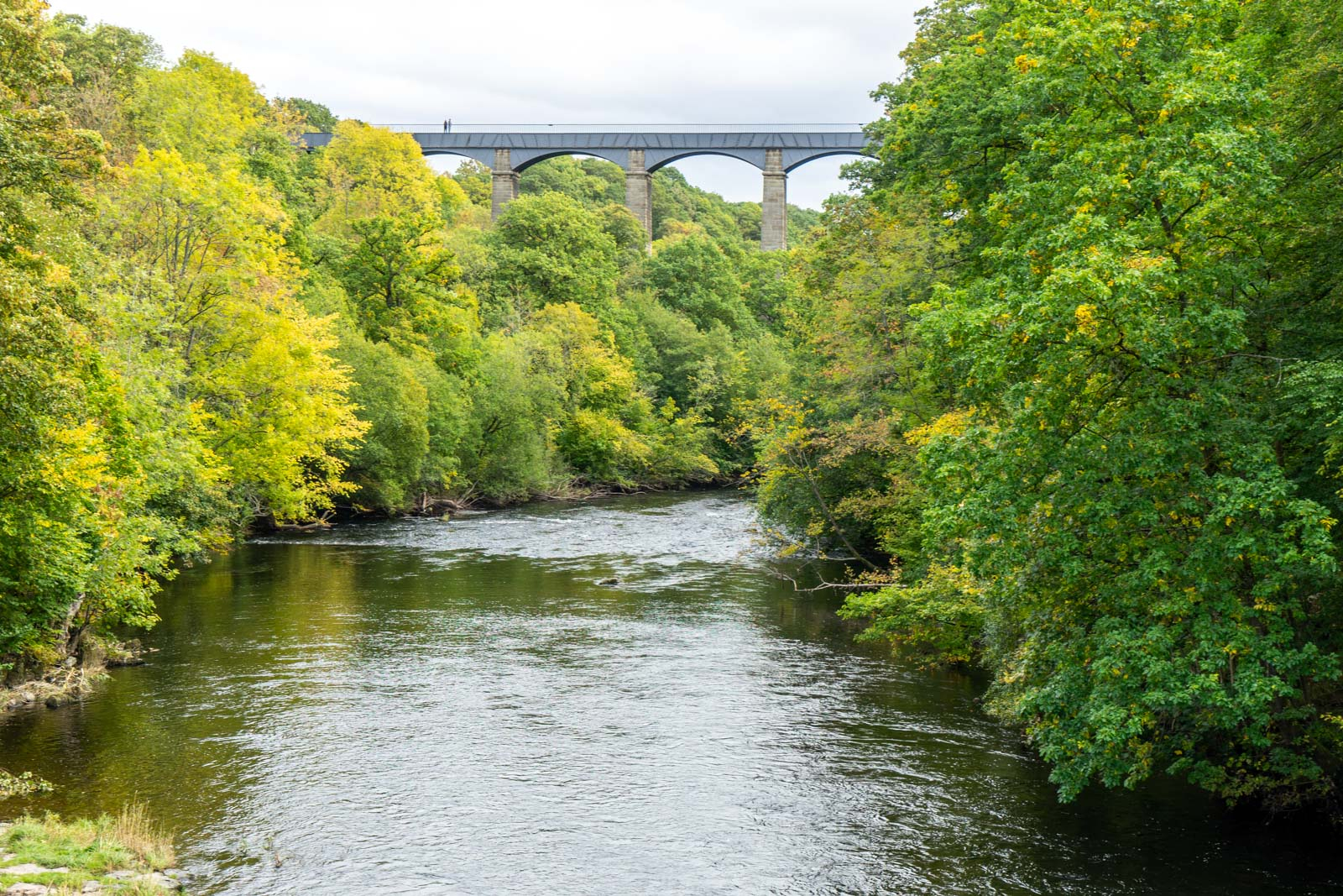 Llangollen Canal and the Pontcysyllte Aqueduct, Wales