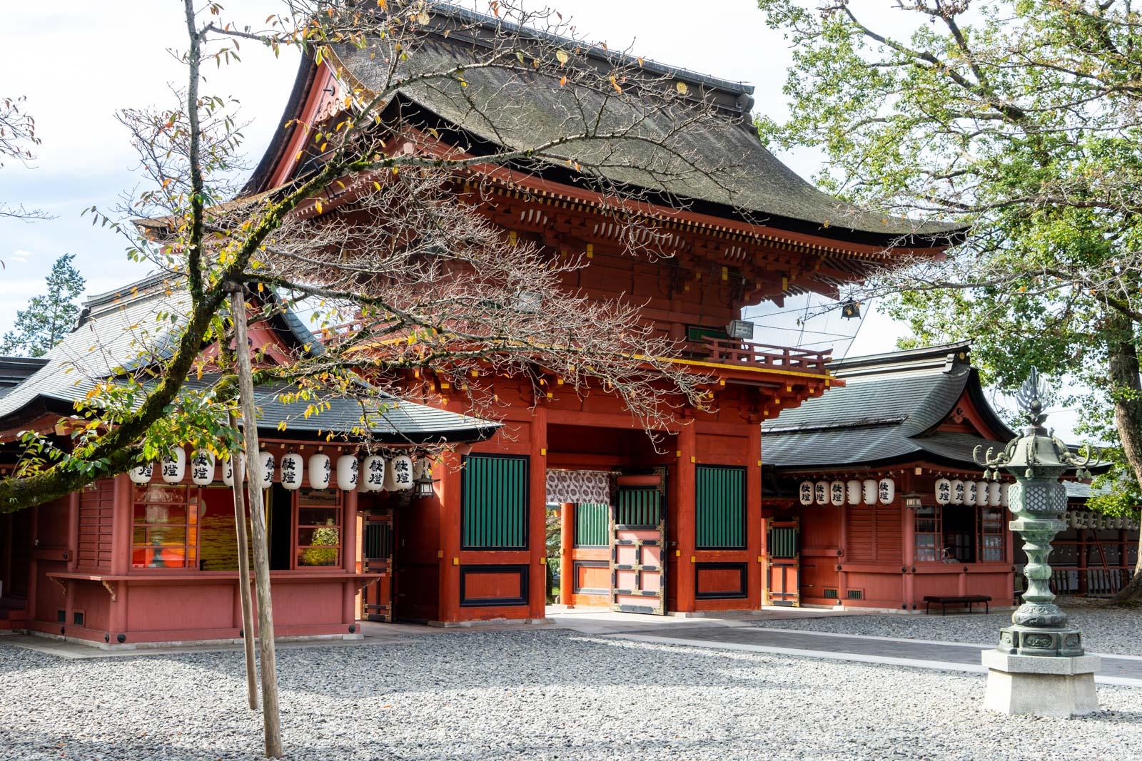 Fujisan Hongu Sengen Taisha Shrine, Fujinomiya, Japan