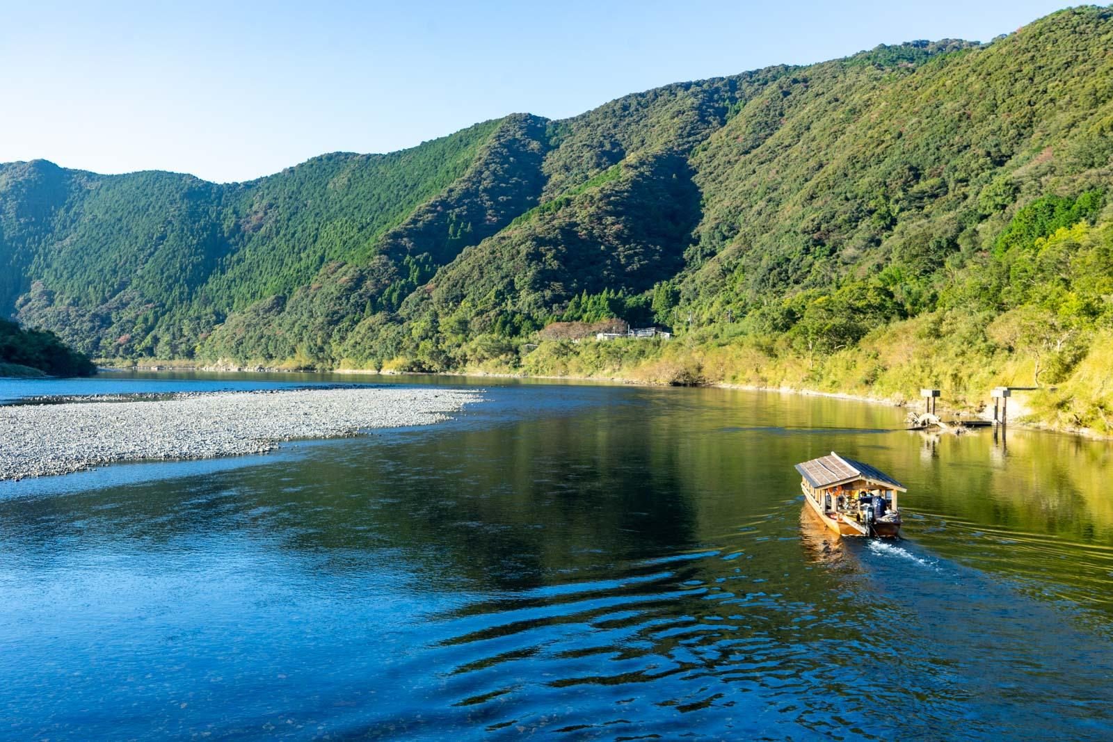 Shimanto River, Kochi, Japan