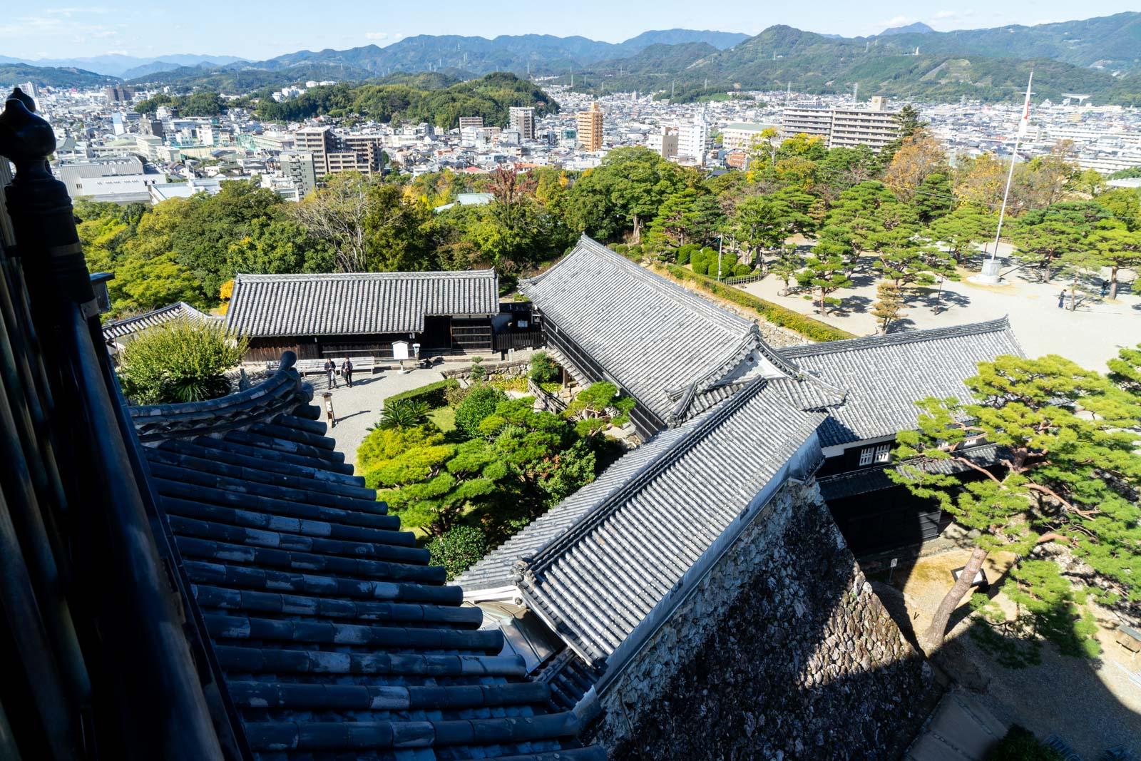 Kochi Castle, Kochi City, Japan