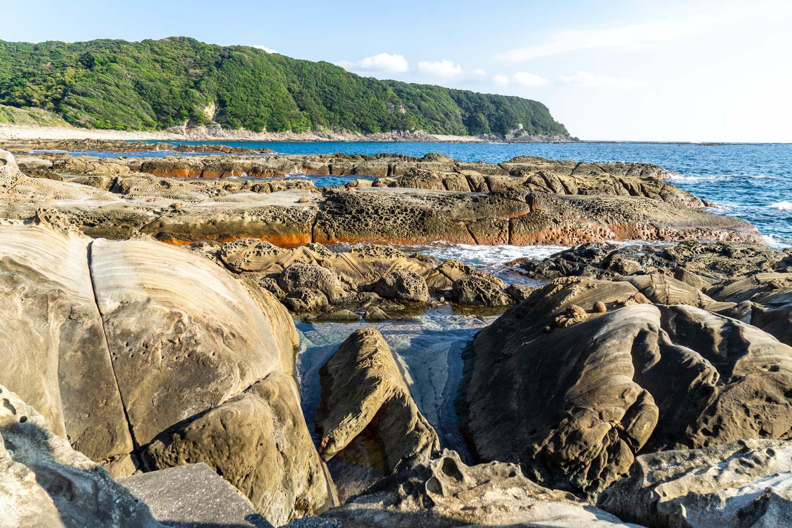 Tatsukushi Coast, Kochi, Japan