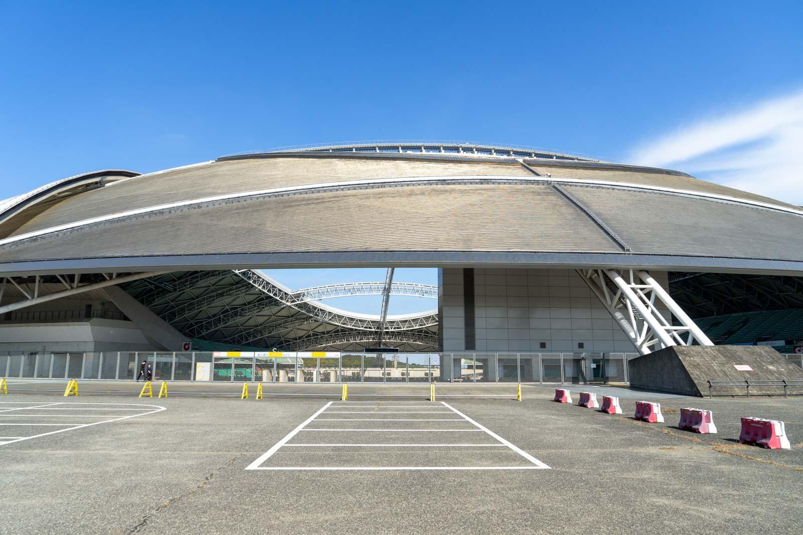 Oita Stadium, Oita, Japan