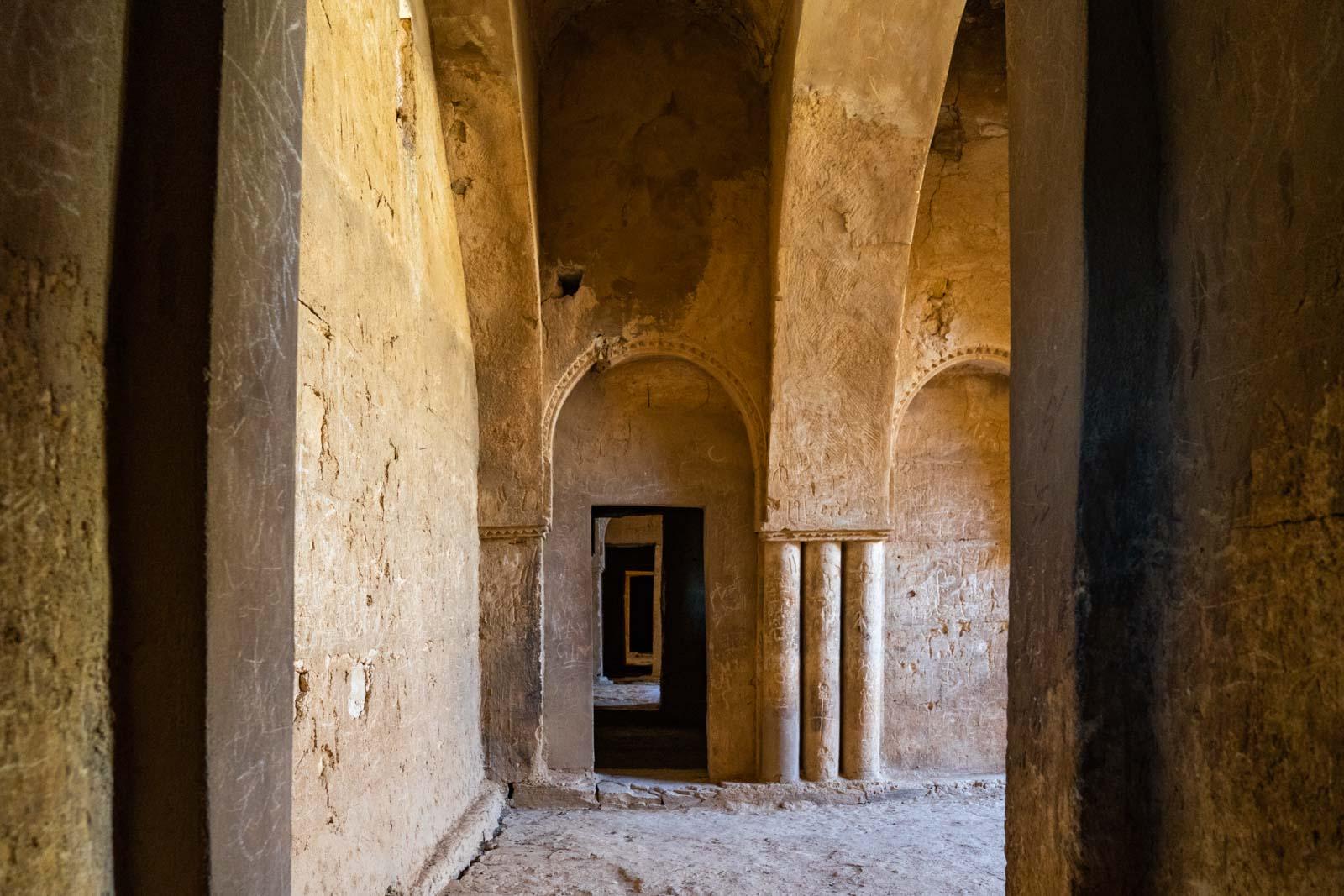 Qasr Al-Kharanah desert castle, Jordan