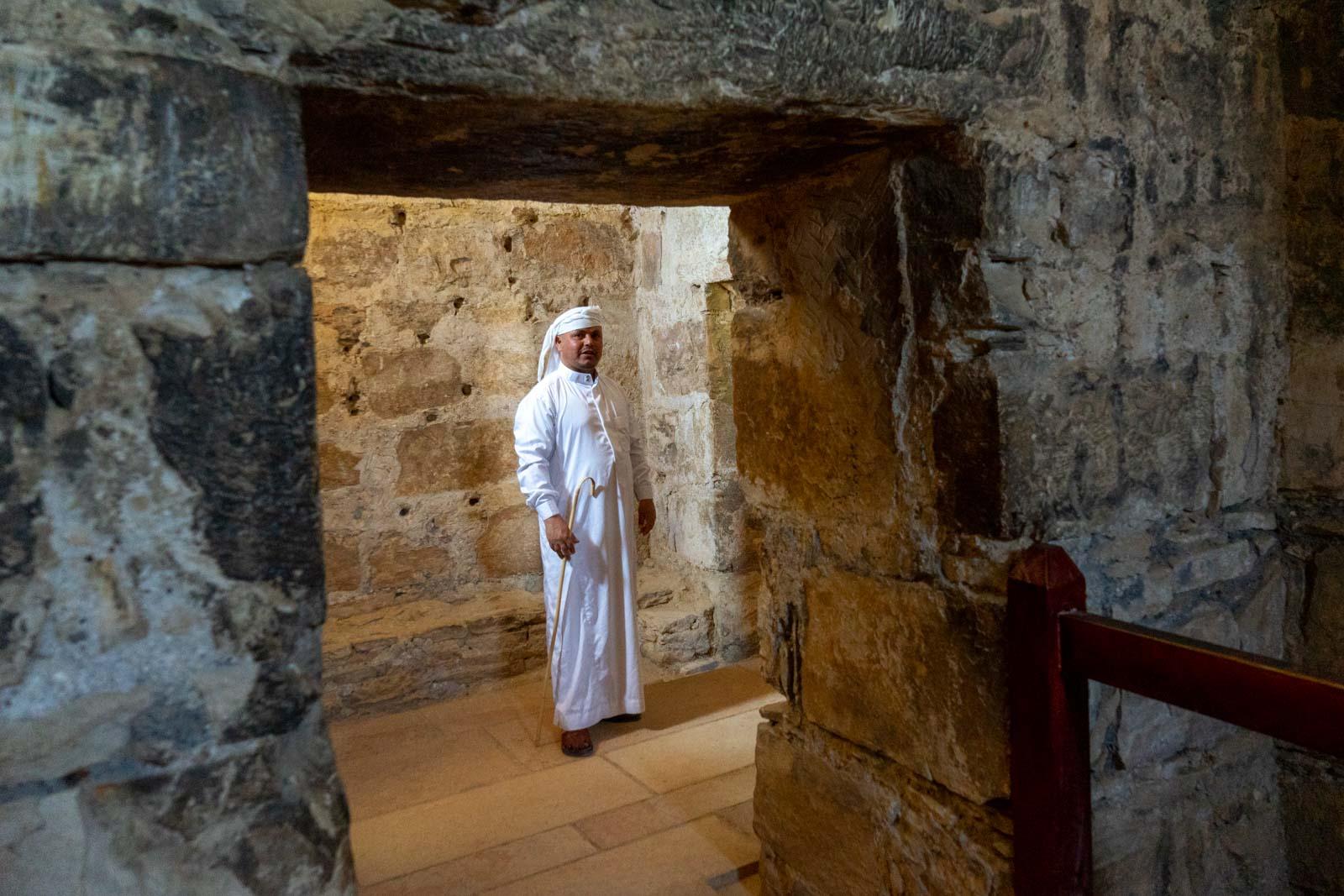 Qasr Amra desert castle, Jordan