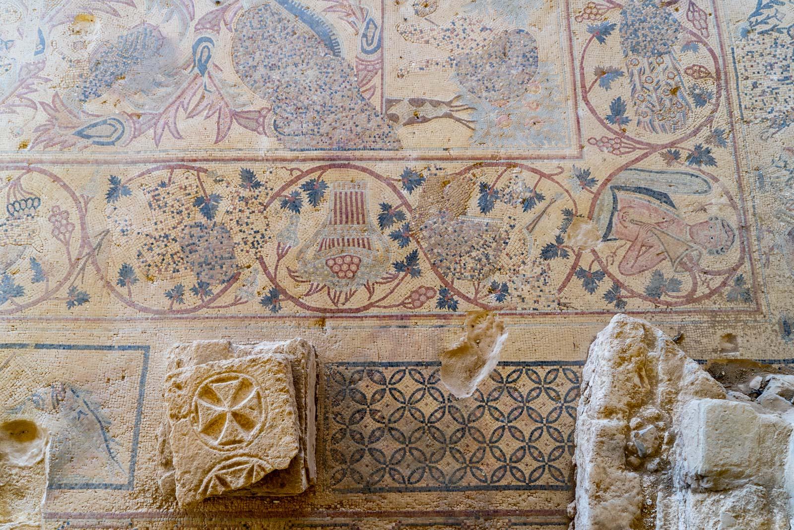 Church of St Stephen, Um er-Rasas, Jordan