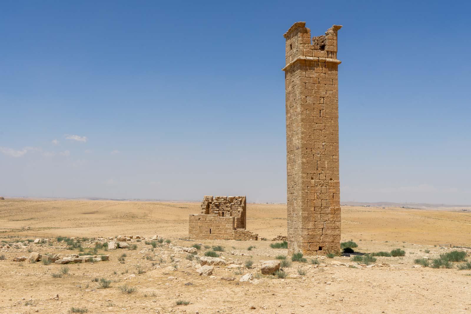 Stylite Tower, Um er-Rasas, Jordan