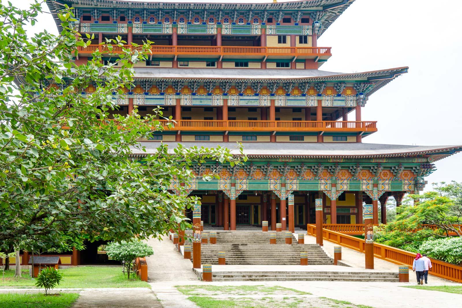 South Korea Monastery, Lumbini, Nepal