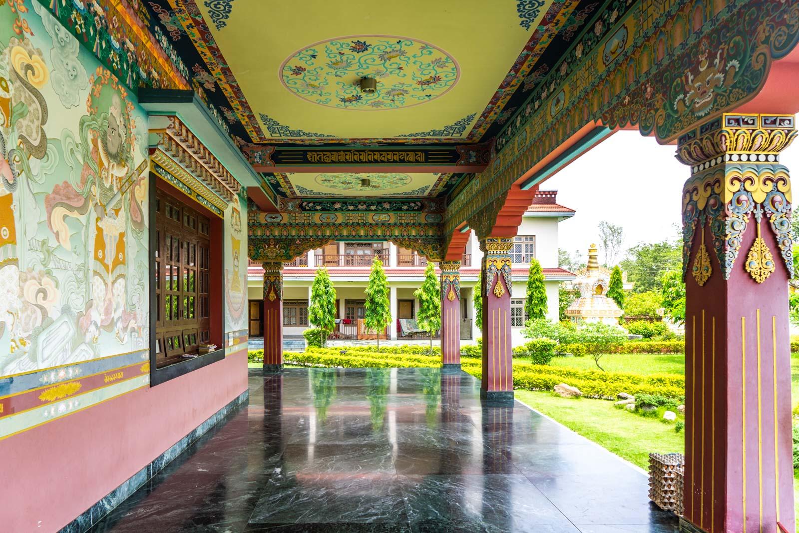 Monastic Zone, Lumbini, Nepal