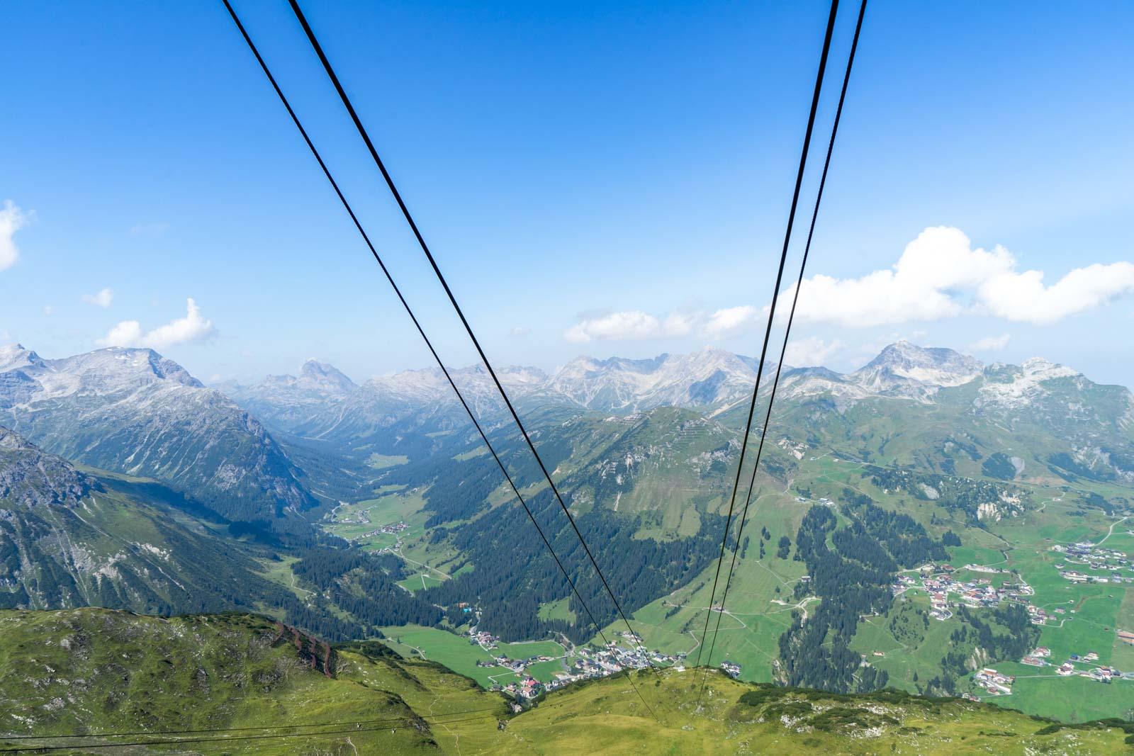 Rüfikopf cable car, Lech, Austria