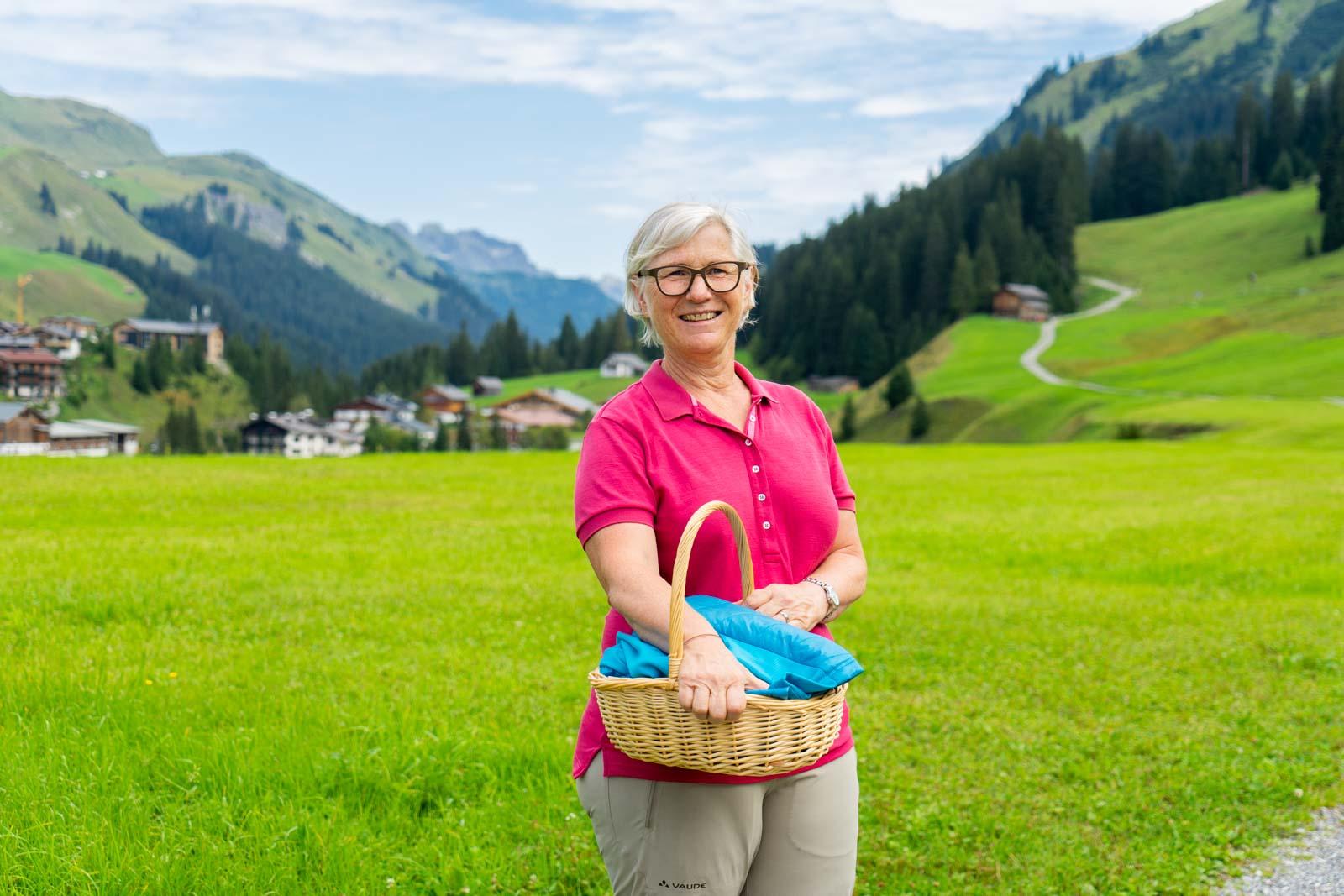Herbal Walk, Lech, Austria