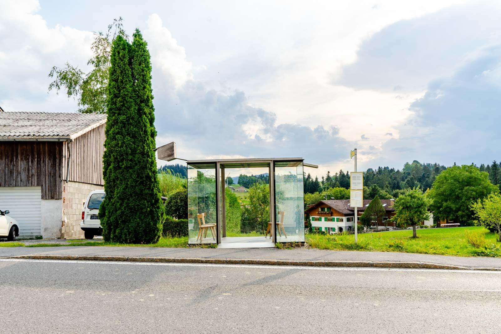 Krumbach bus stops, Vorarlberg, Austria