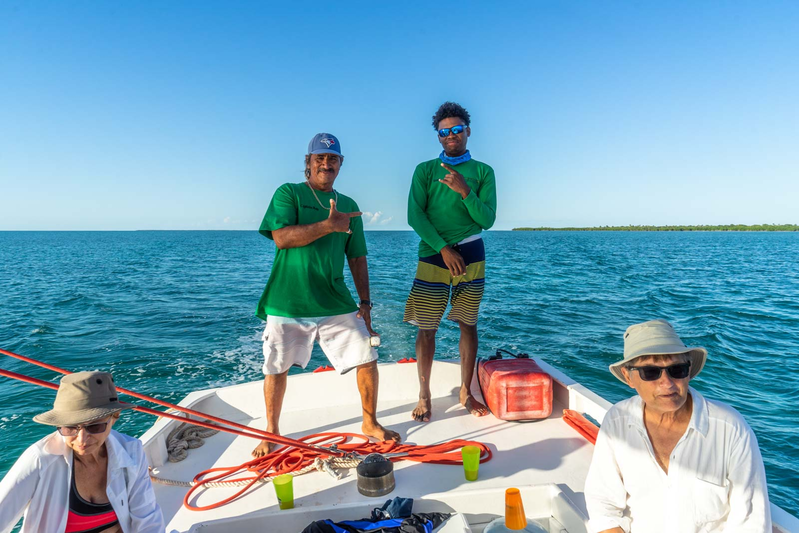 Caye Caulker snorkelling, Belize