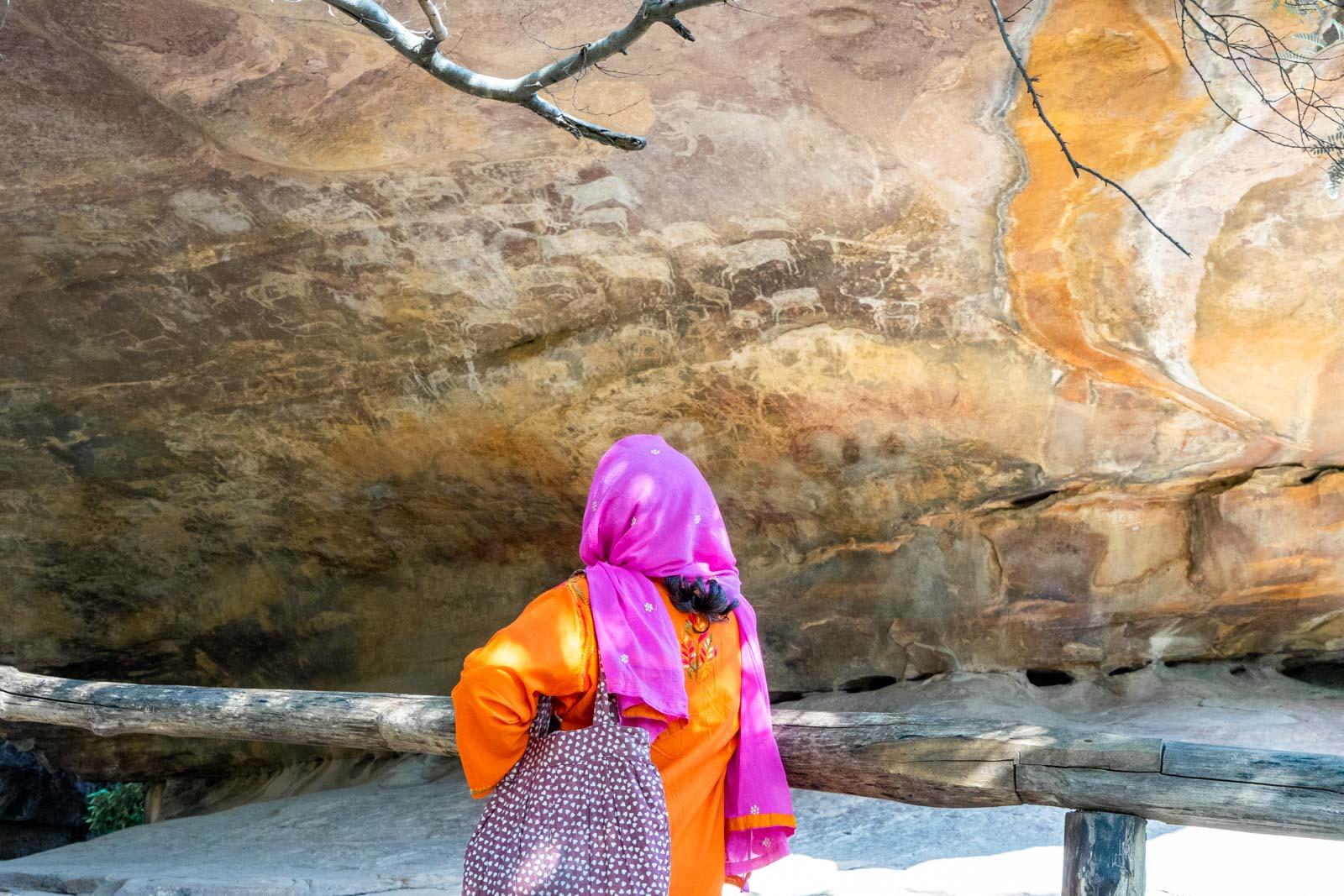 Bhimbetka Rock Shelters, Madhya Pradesh, India
