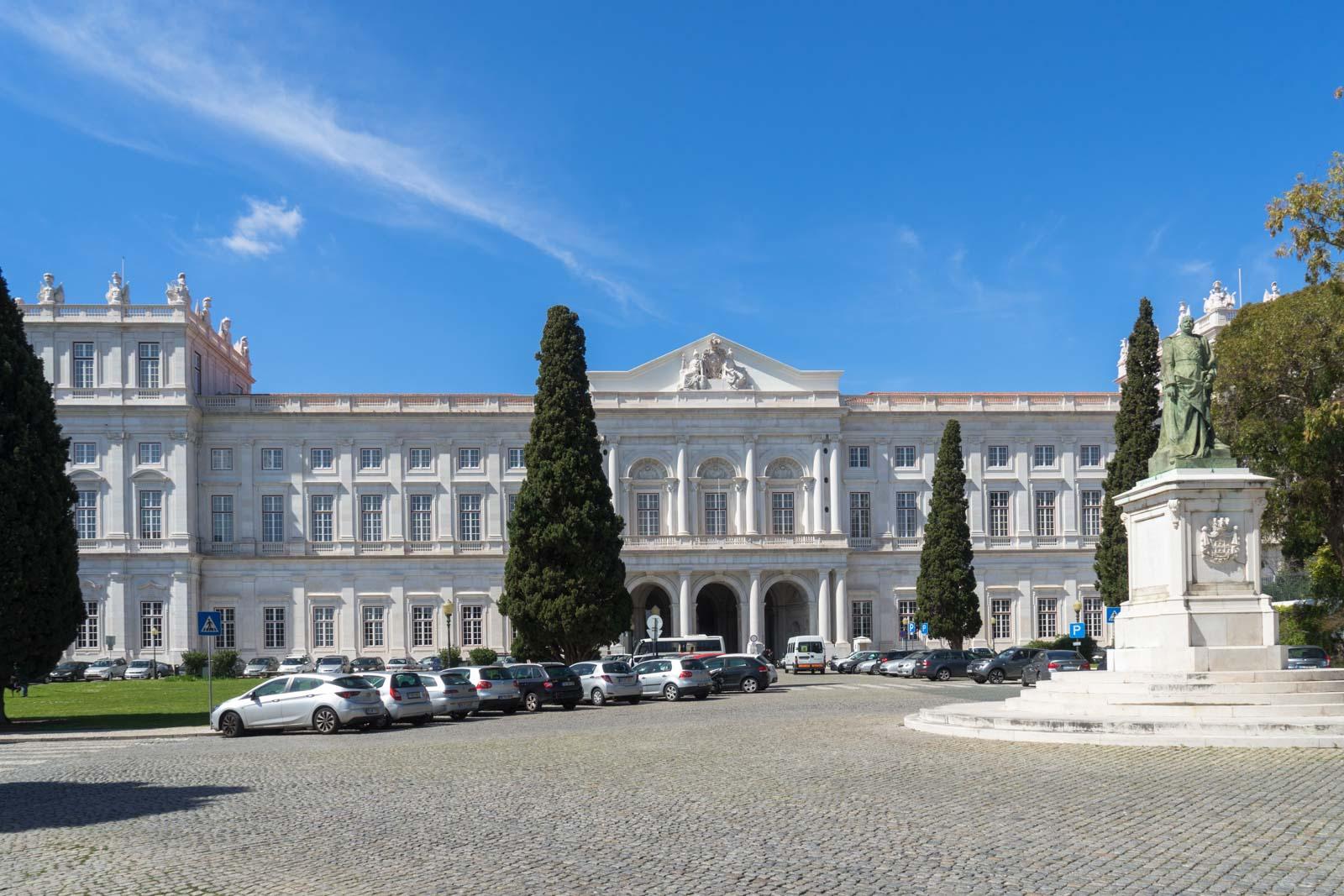 Ajuda Palace, Belem, Lisbon, Portugal