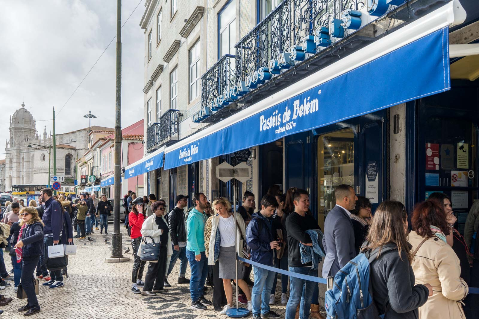 Pastéis de Belém, Belem, Lisbon, Portugal