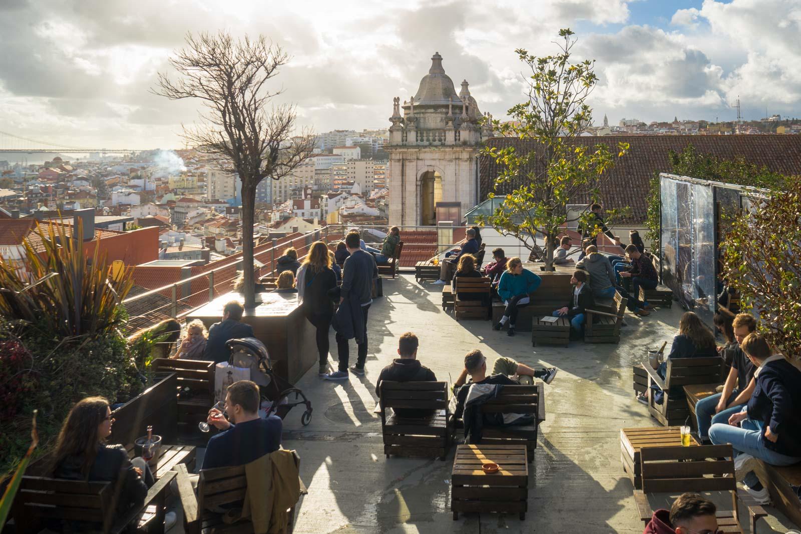 Park Bar, Lisbon