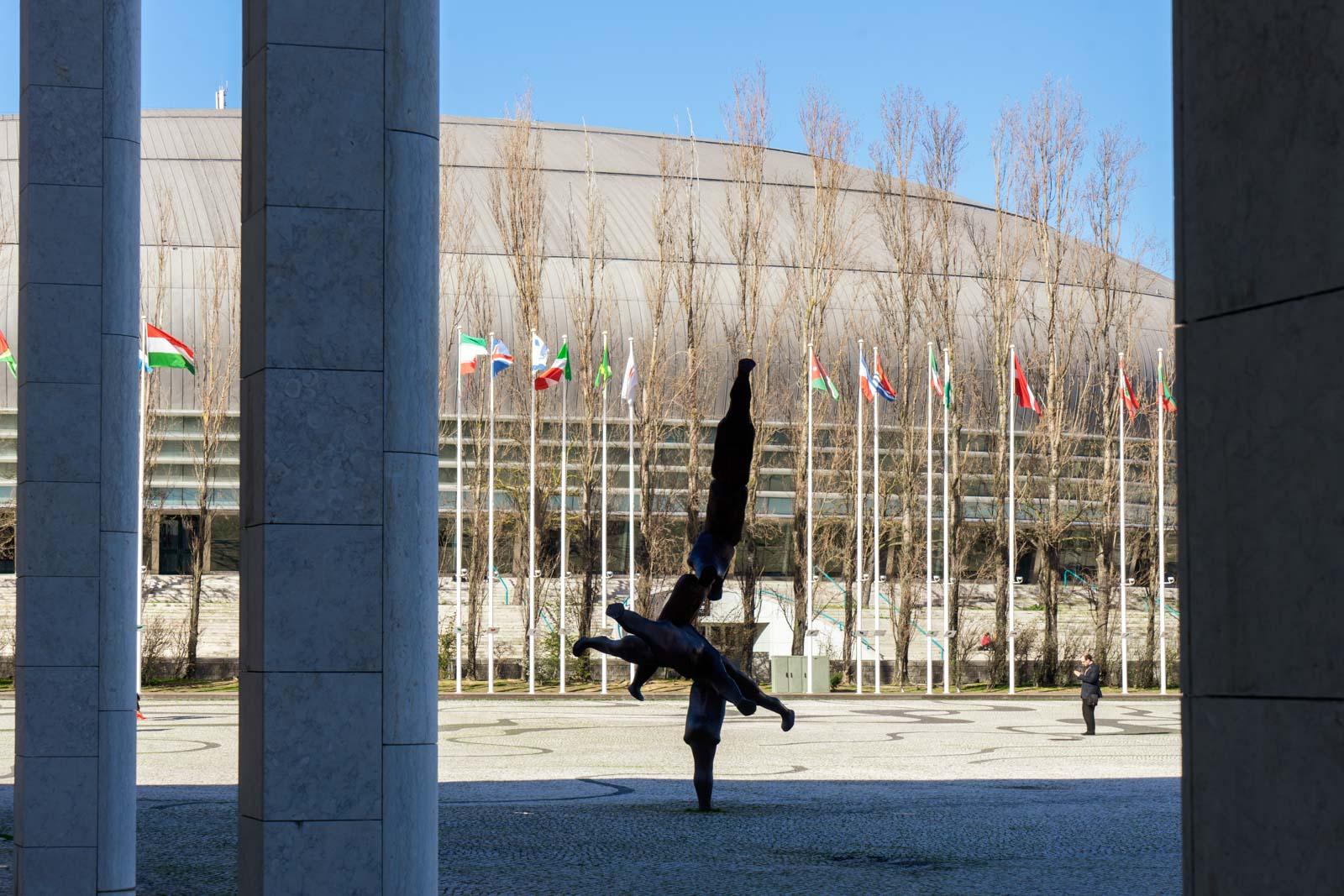 Park of Nations (Parque das Nações) architecture, Lisbon, Portugal