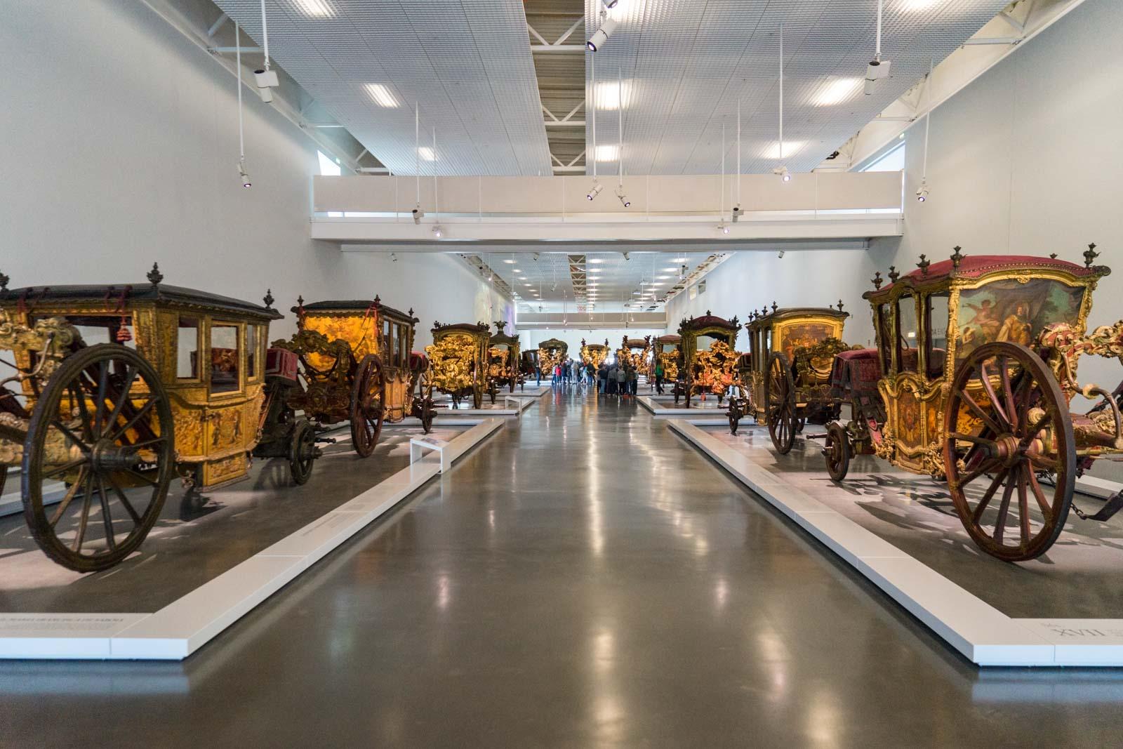 National Museum of Coaches, Belem, Lisbon, Portugal