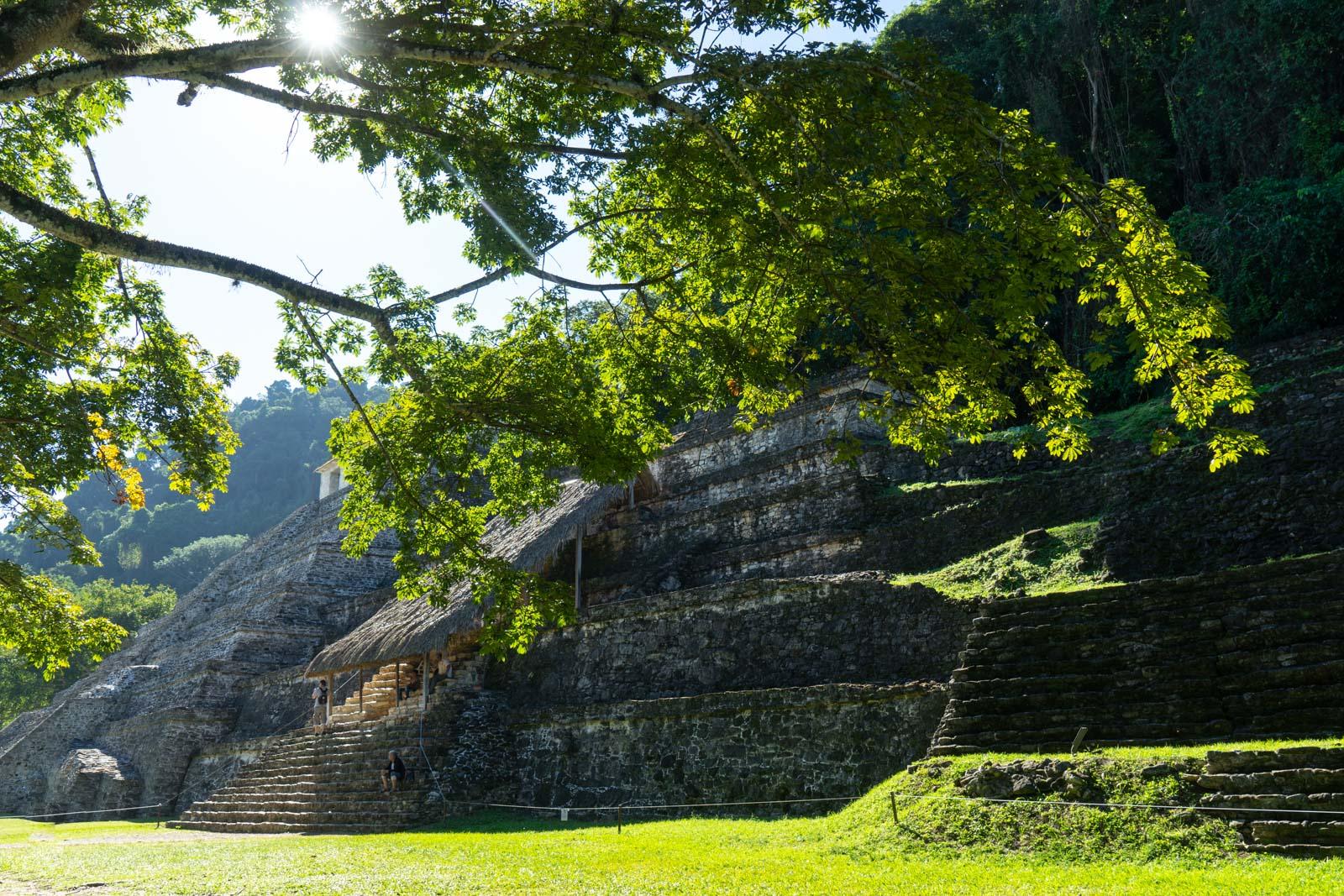 Palenque ruins, Mexico