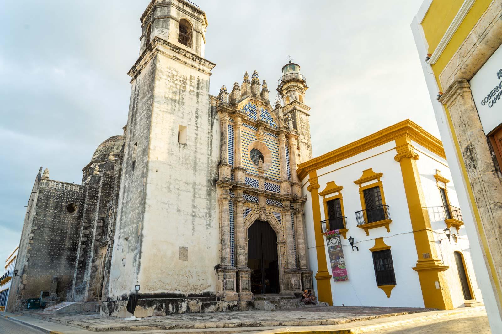 Historic city of Campeche, Mexico