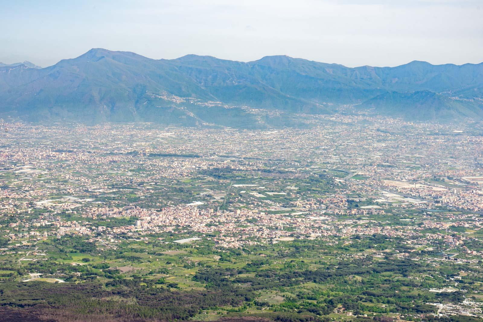 Hiking Mount Vesuvius, Naples, Italy