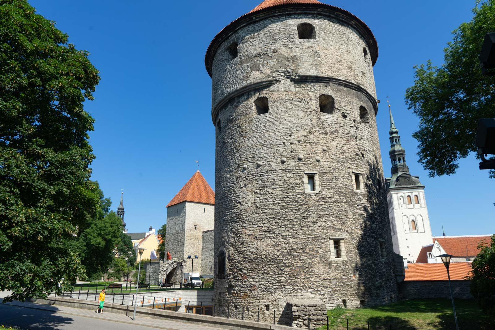 Kiek in de Kök Fortifications, Tallinn, Estonia