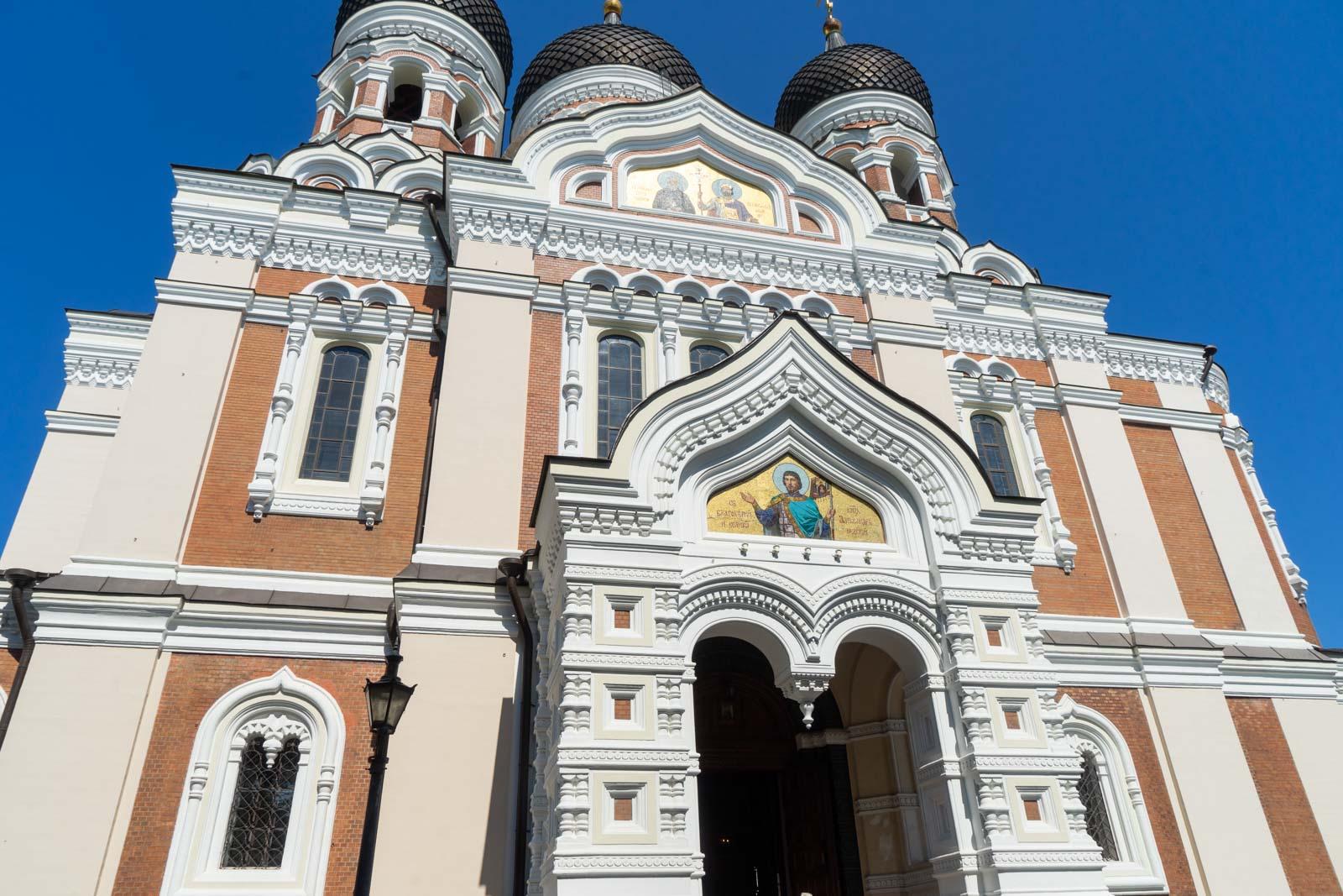St Alexander Nevsky Cathedral, Tallinn, Estonia