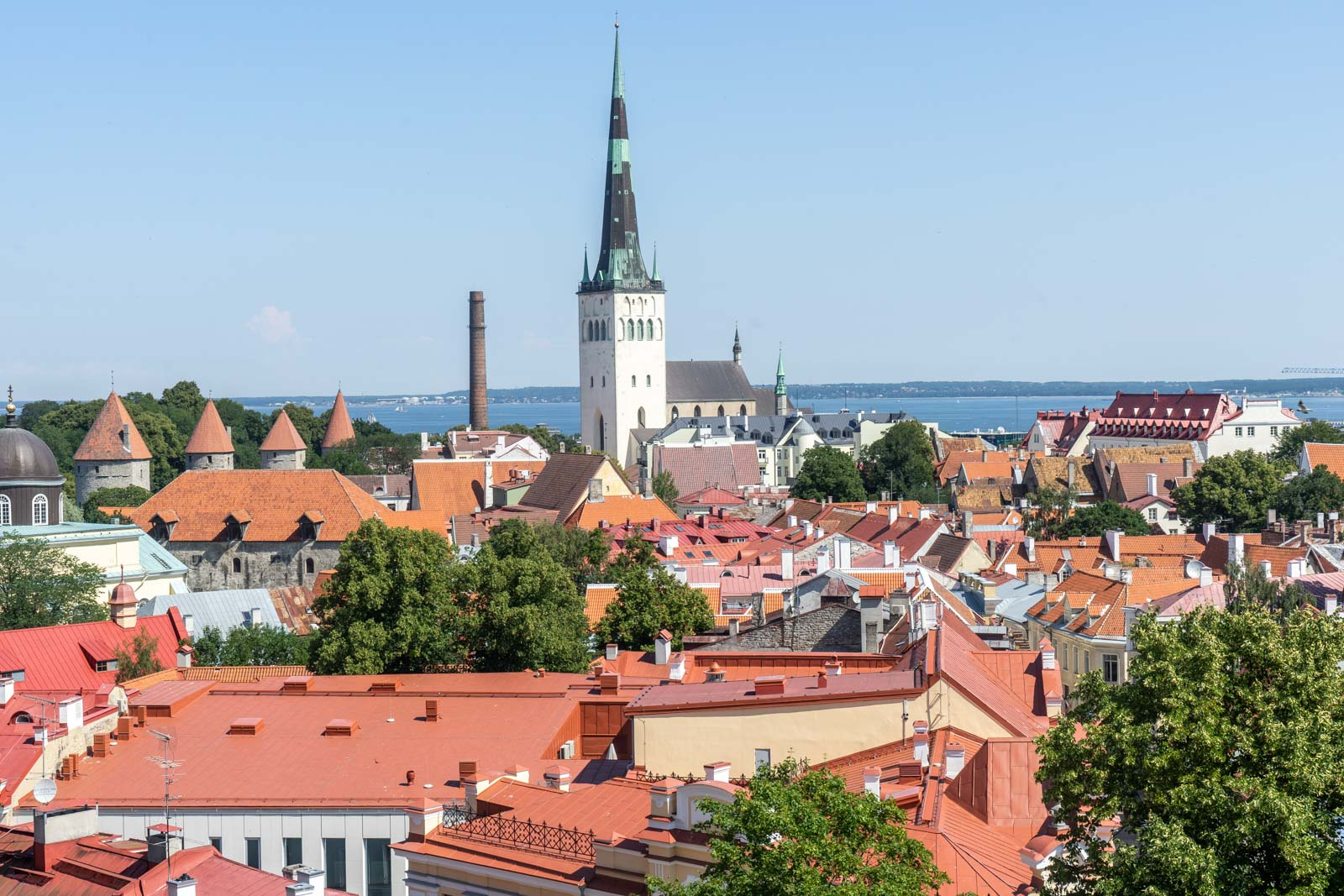 Kohtuotsa Viewing platform, Tallinn, Estonia