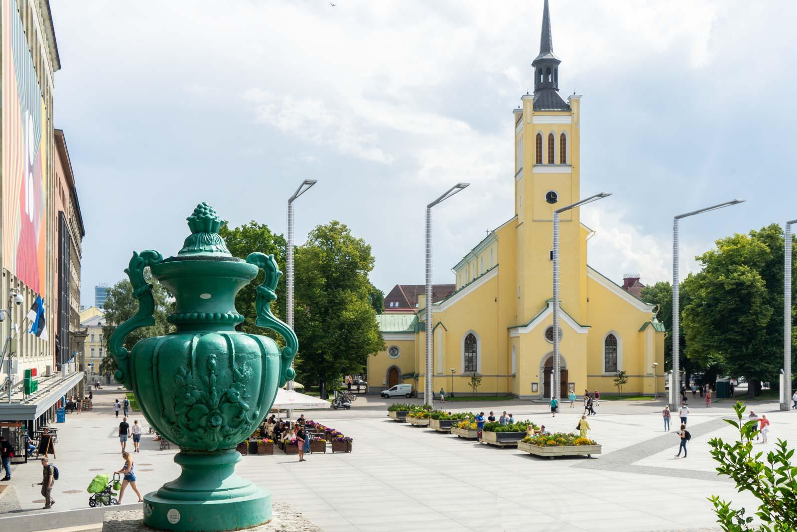 St John's Church, Tallinn, Estonia