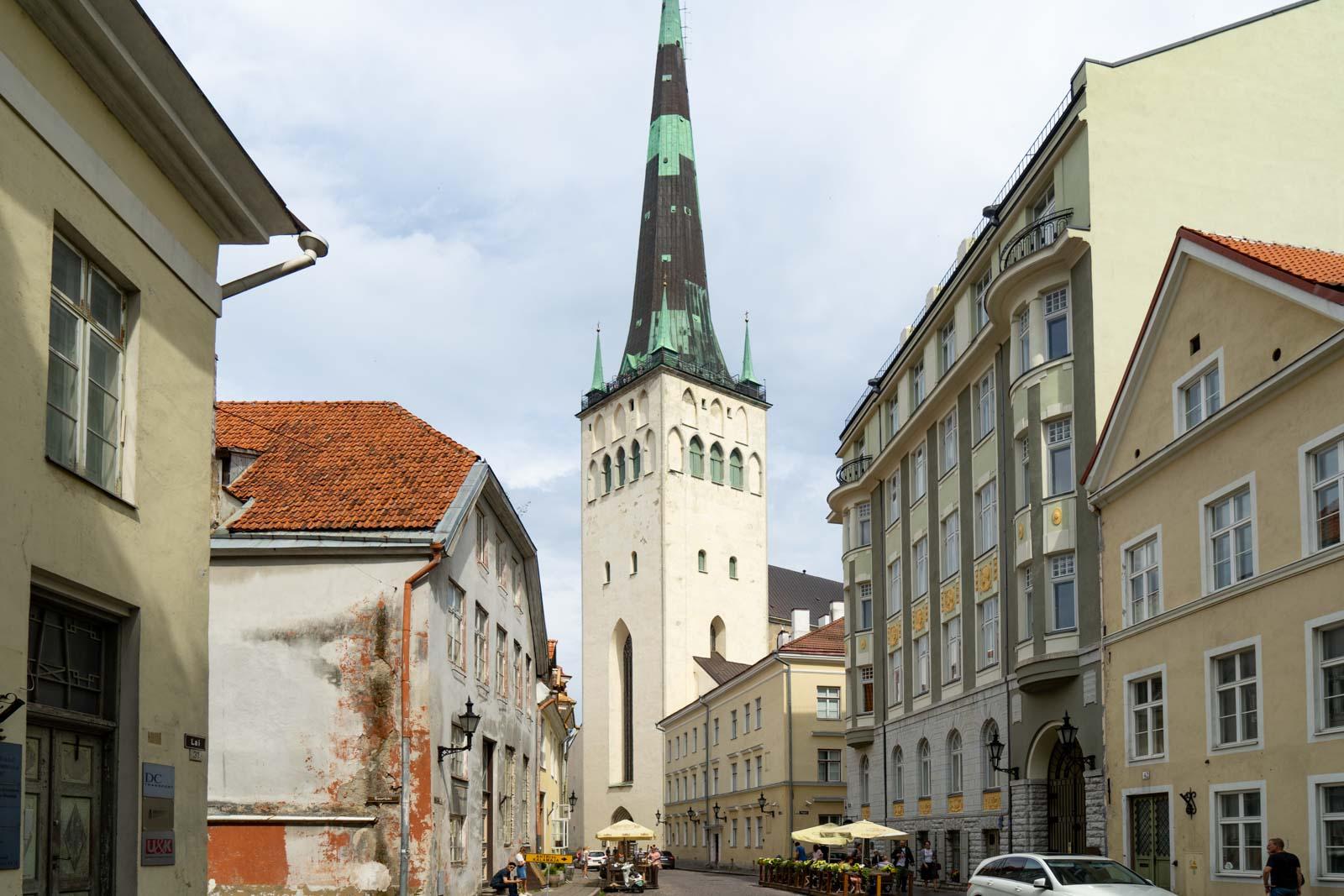 St Olaf's church, Tallinn, Estonia