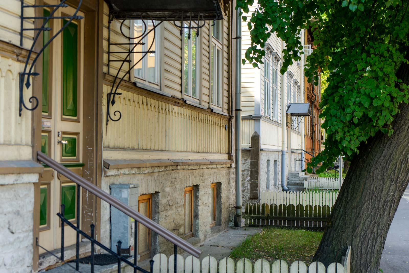 Kadriorg Houses, Tallinn, Estonia