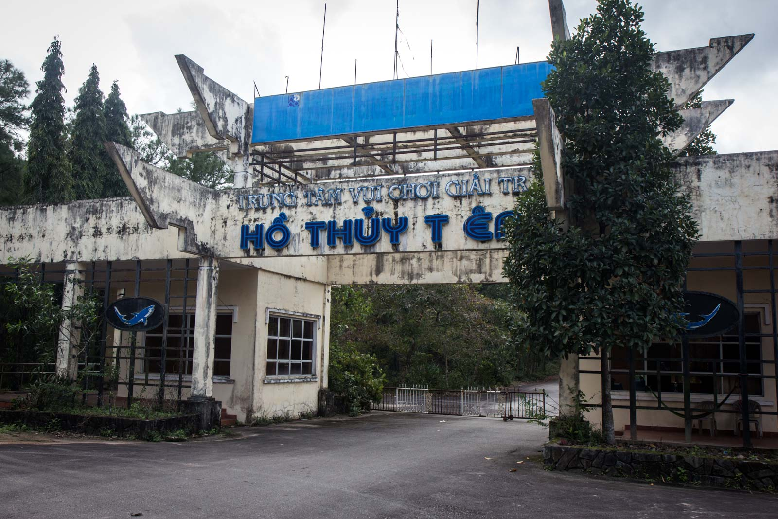 Abandoned water park, Hue, Vietnam