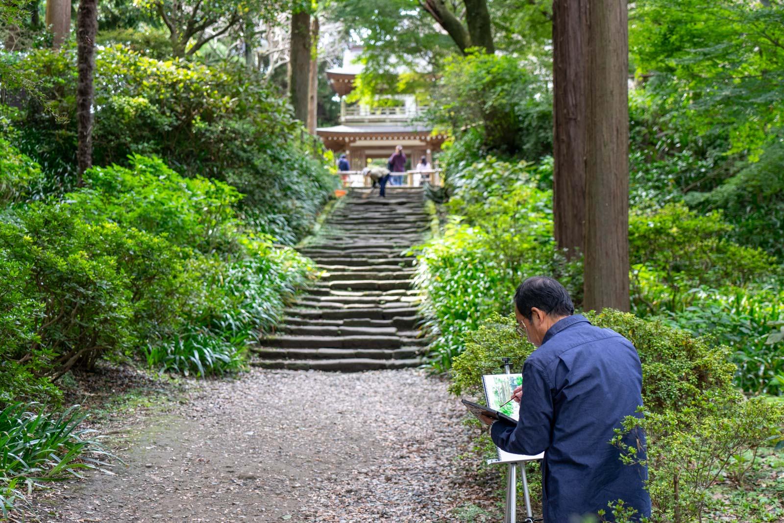 Jochi-ji Temple, Kamakura, Japan