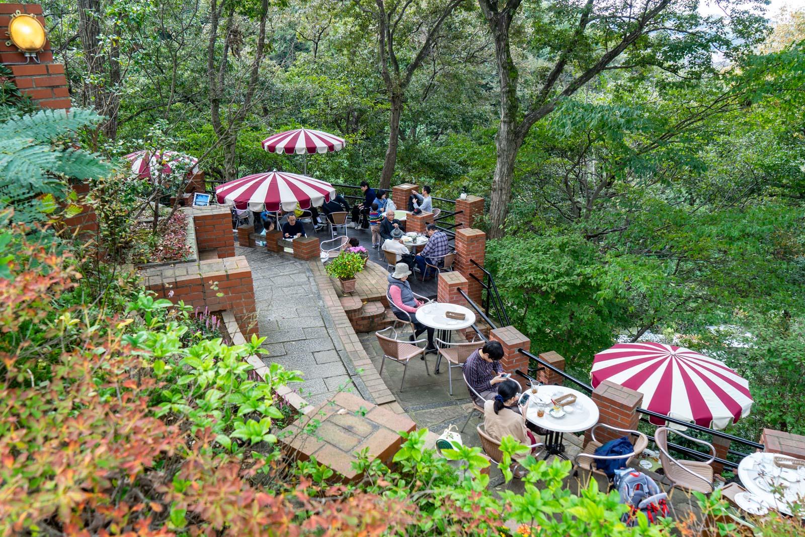Itsuki Garden cafe, Kamakura, Japan