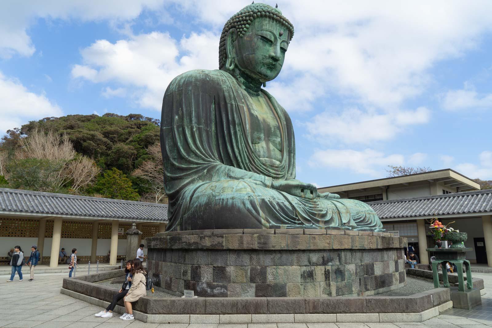 Big Buddha, Kamakura, Japan
