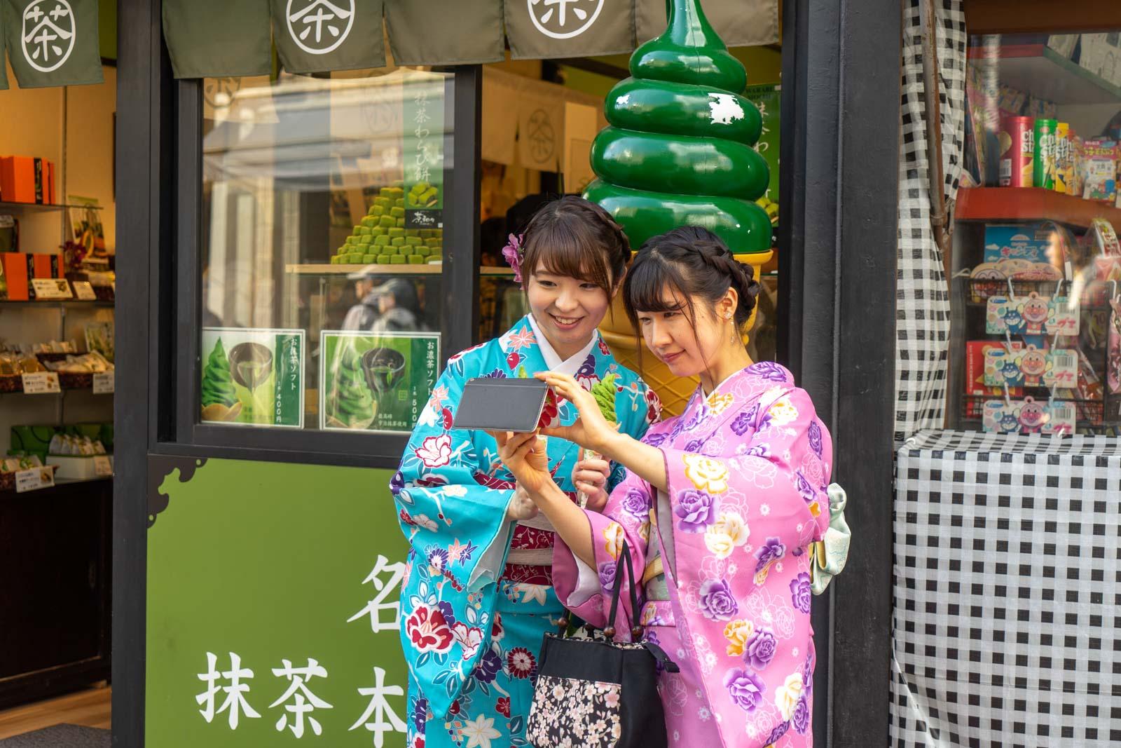 Komachi Dori Shopping Street, Yokohama, Japan