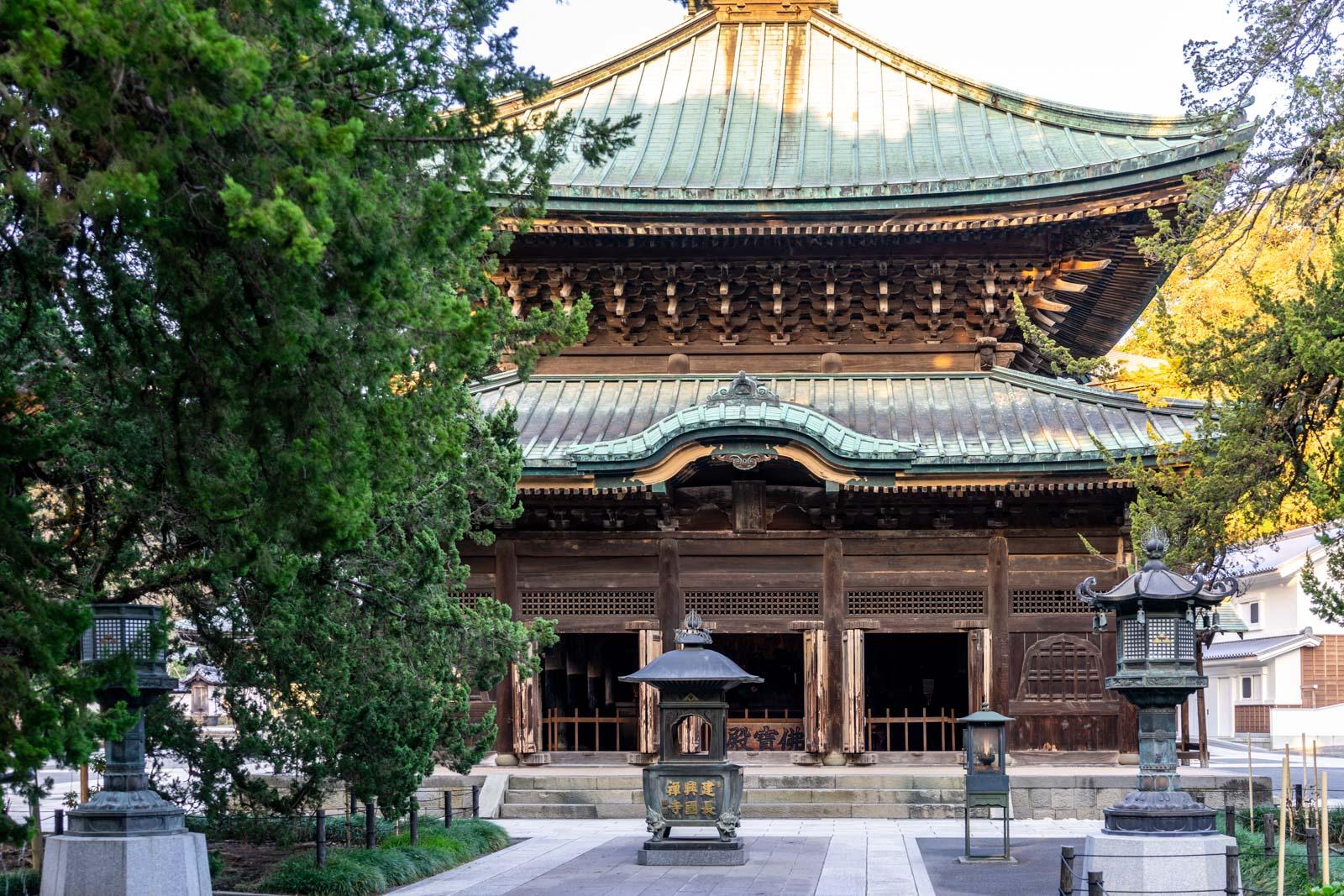 Kencho-ji Temple, Kamakura, Japan